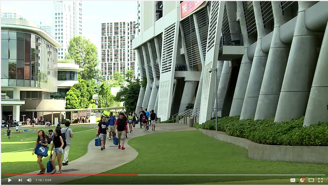 Sustainability at the National University of Singapore