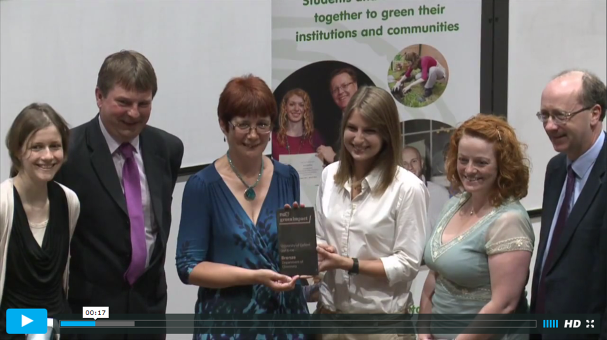 Oxford Green Impact Awards